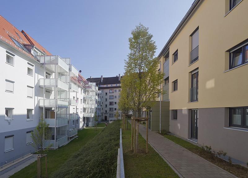 Bebelstraße in Stuttgart - Eingangsbereich