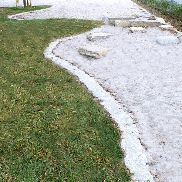 Sandkasten am Lauter Park zum spielen