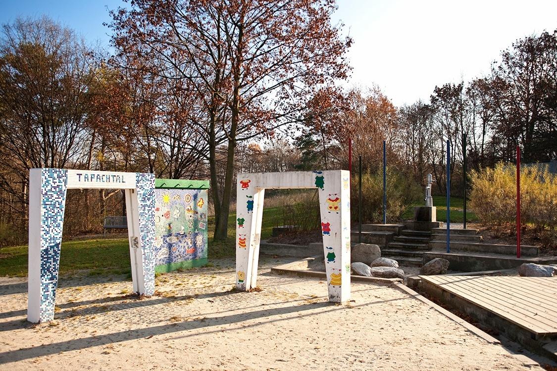Kinderspielplatz Tapachtal - umgesetzt von Kunder3 Landschaftsarchitektur