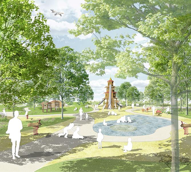spielplatz rosensteinpark kunder3 landschaftsarchitekt. Black Bedroom Furniture Sets. Home Design Ideas